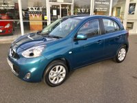 2014 NISSAN MICRA 1.2 ACENTA 5DR AUTO 79 BHP 198 MILES ONLY £8499.00