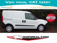 2015 VAUXHALL COMBO VAN 1.2 2300 L1H1 CDTI 90 BHP (5 SEATER ONE OWNER) £6990.00