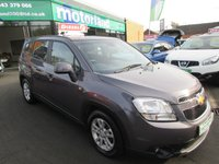 USED 2011 11 CHEVROLET ORLANDO 2.0 LT VCDI 5d 130 BHP JUST ARRIVED TEST DRIVE TODAY