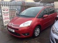 2010 CITROEN C4 PICASSO 1.6 GRAND VTR PLUS HDI 5d 107 BHP £SOLD