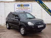 USED 2007 57 HYUNDAI TUCSON 2.0 CDX CRTD 4WD 5d 138 BHP All Dealer History Leather 0% Deposit Finance Available