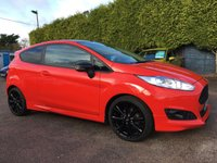 2014 FORD FIESTA 1.0 ZETEC S RED EDITION 3d 140 BHP WITH SERVICE HISTORY  £9250.00