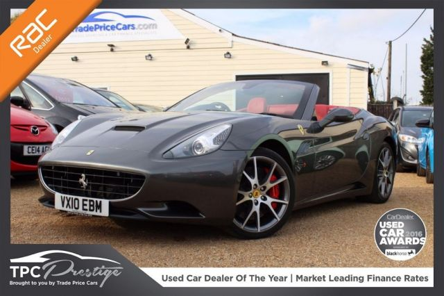 View our 2010 10 FERRARI CALIFORNIA 4.3 2 PLUS 2 2d AUTO 460 BHP
