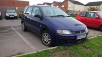 USED 2003 52 MITSUBISHI SPACE STAR 1.9 MIRAGE DI-D 5d 101 BHP CLEARANCE AS IS . NOT AVAILABLE ON FINANCE.