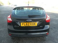 USED 2012 62 FORD FOCUS 1.6 ZETEC ECONETIC TDCI 5d 104 BHP