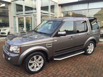 2010 LAND ROVER DISCOVERY 3.0 4 TDV6 XS 5d AUTO 245 BHP £18500.00