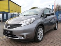 USED 2014 14 NISSAN NOTE 1.5 DCI TEKNA 5d  FULL SERVICE HISTORY ~ BLUETOOTH ~ CRUISE ~ CLIMATE ~ SAT NAV ~ 360 CAMERA