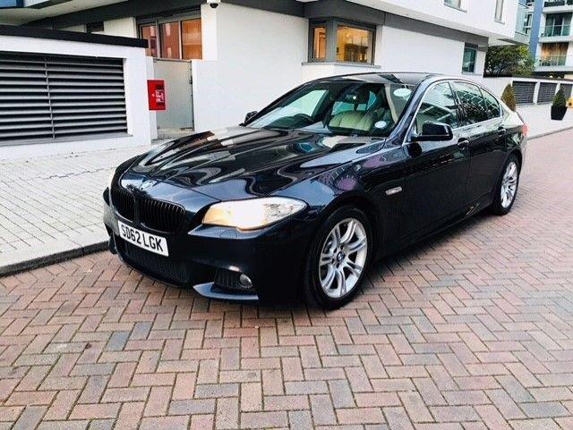 2012 62 BMW 5 SERIES 2.0 520D M SPORT 4d AUTO 181 BHP
