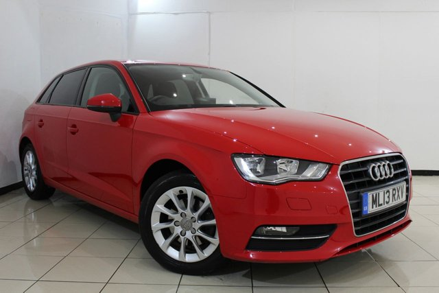 View our 2013 13 AUDI A3 1.4 TFSI SE 5DR 121 BHP