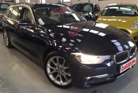 USED 2012 62 BMW 3 SERIES 2.0 320D LUXURY TOURING 5d AUTO 181 BHP