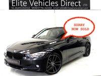 2012 BMW 3 SERIES 2.0 320D EFFICIENTDYNAMICS 4d 161 BHP £SOLD