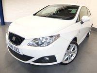 2011 SEAT IBIZA 1.6 CR TDI SPORTRIDER 3d 103 BHP £4690.00
