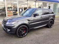2017 LAND ROVER RANGE ROVER SPORT 3.0 SDV6 HSE DYNAMIC STEALTH PACK 5DR AUTO 306 BHP LOW TAX £62980.00