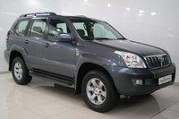 2006 TOYOTA LAND CRUISER 3.0 D-4D LC5 8 STR 5d AUTO 171 BHP £9450.00