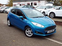 USED 2014 14 FORD FIESTA 1.0 ZETEC 5d 99 BHP ONE Owner FULL Ford Service History