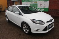 USED 2013 13 FORD FOCUS 1.6 ZETEC ECONETIC TDCI 5d 104 BHP +5 Stamp FSH +FREE Tax Group