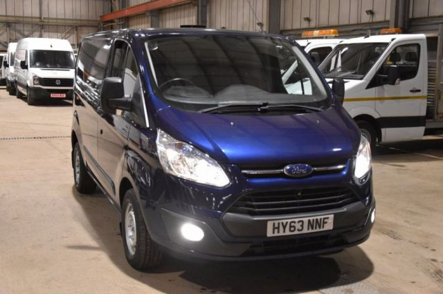 2013 63 FORD TRANSIT CUSTOM 2.2 270 TREND LR P/V 5d 124 BHP START STOP SWB DIESEL PANEL MANUAL VAN TWO OWNERS / FULL LOADED VAN