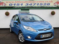 USED 2009 59 FORD FIESTA 1.4 ZETEC 16V 5d 96 BHP FINANCE AVAILABLE, BLUETOOTH, GENUINE 32,000 MILES