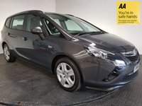 USED 2014 14 VAUXHALL ZAFIRA TOURER 2.0 EXCLUSIV CDTI 5d 128 BHP FULL VAUXHALL SERVICE HISTORY - ONE OWNER - LOW MILEAGE - FRONT & REAR PARKING SENSORS - 7 SEATS