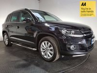 USED 2014 64 VOLKSWAGEN TIGUAN 2.0 MATCH TDI BLUEMOTION TECHNOLOGY 4MOTION 5d 139 BHP FULL VW SERVICE HISTORY - ONE OWNER - VERY LOW MILEAGE - SAT NAV - BLUETOOTH - PARKING SENSORS