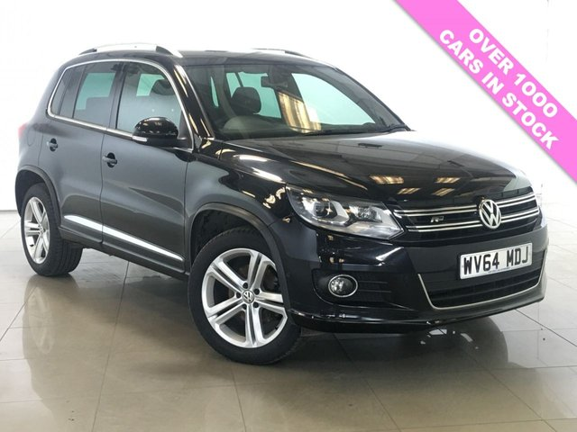 View our 2014 64 VOLKSWAGEN TIGUAN 2.0 R LINE TDI BLUEMOTION TECHNOLOGY 4MOTION 5d 139 BHP