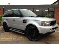 USED 2006 56 LAND ROVER RANGE ROVER SPORT 4.4 V8 HSE 5dr 22 inch wheels/Black leather