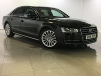 USED 2015 15 AUDI A8 3.0 TDI QUATTRO SE 4d AUTO 254 BHP One Owner From New/Huge Spec