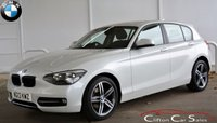 USED 2013 13 BMW 1 SERIES 116i SPORT 5 DOOR 6-SPEED 135 BHP Finance? No deposit required and decision in minutes.