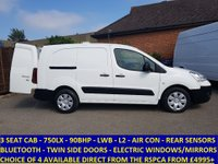 2011 CITROEN BERLINGO 750LX LWB WITH  3 SEATS & AIR-CON FROM THE RSPCA £4695.00