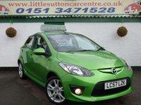 USED 2007 57 MAZDA 2 1.5 SPORT 5d 102 BHP LONG MOT UNTIL OCT 2018, 2 OWNERS, SUPERB CONDITION, FINANCE AVAILABLE