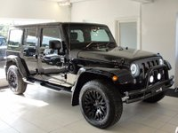USED 2015 15 JEEP WRANGLER 2.8 CRD Sahara 4x4 4dr RESERVED FOR JAMES