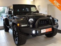USED 2015 65 JEEP WRANGLER 2.8 CRD Overland 4x4 4dr Reserved For Shona