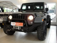 USED 2014 14 JEEP WRANGLER 2.8 CRD Overland with Hard Top and Soft Top Option 4x4 2dr RESERVED FOR CONRAD