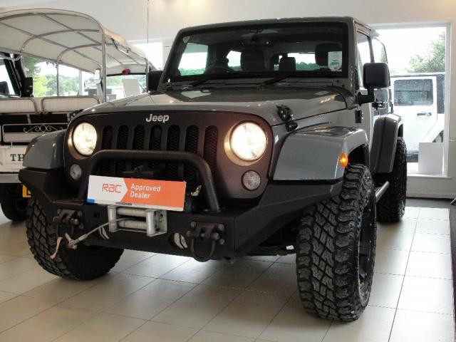 2014 14 JEEP WRANGLER 2.8 CRD Overland with Hard Top and Soft Top Option 4x4 2dr