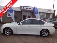 2012 BMW 5 SERIES 2.0 520D M SPORT 4DR  AUTOMATIC DIESEL 181 BHP £13400.00