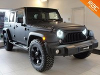 USED 2015 15 JEEP WRANGLER 2.8 CRD Overland 4x4 4dr Fully Loaded Overland