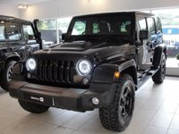 USED 2015 65 JEEP WRANGLER 2.8 CRD Black Edition II Hard Top 4x4 4dr Fully Loaded Ltd Edition