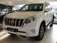2014 TOYOTA LAND CRUISER 3.0 D-4D Icon 5dr (7 Seat) £32994.00