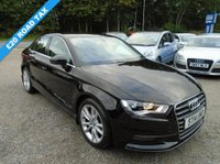 USED 2014 14 AUDI A3 1.4 TFSI Sport S Tronic 4dr (ACT, start/stop)