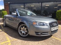 USED 2007 07 AUDI A4 CABRIOLET 3.1 FSI Cabriolet Quattro 2dr £200 voucher with this car !!!