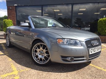 View our AUDI A4 CABRIOLET