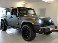 2014 JEEP WRANGLER 2.8 CRD Sahara Unlimited Station Wagon 4x4 5dr £29994.00