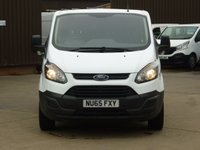 USED 2015 65 FORD TRANSIT CUSTOM 2.2TDCi T270 L1 CREW VAN 100 BHP NATIONWIDE DELIVERY AVAILABLE