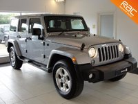 USED 2015 15 JEEP WRANGLER 2.8 CRD Overland 4x4 4dr RESERVED FOR CHRISTOPHER