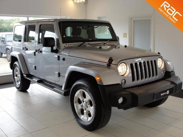 2015 15 JEEP WRANGLER 2.8 CRD Overland 4x4 4dr