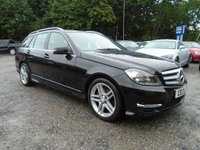 USED 2013 13 MERCEDES-BENZ C CLASS 1.6 C180 AMG Sport 5dr