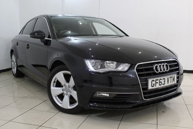 View our 2013 63 AUDI A3 1.4 TFSI SPORT 4DR AUTOMATIC 139 BHP