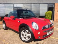 2008 MINI CONVERTIBLE 1.6 One 2dr £4295.00