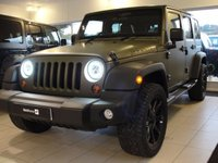 USED 2013 61 JEEP WRANGLER 3.6L Petrol Automatic 4dr V6 Petrol Only £245 Road Tax