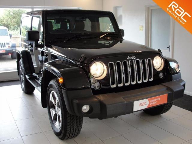 2016 66 JEEP WRANGLER 2.8 CRD Overland Hard Top 4x4 2dr